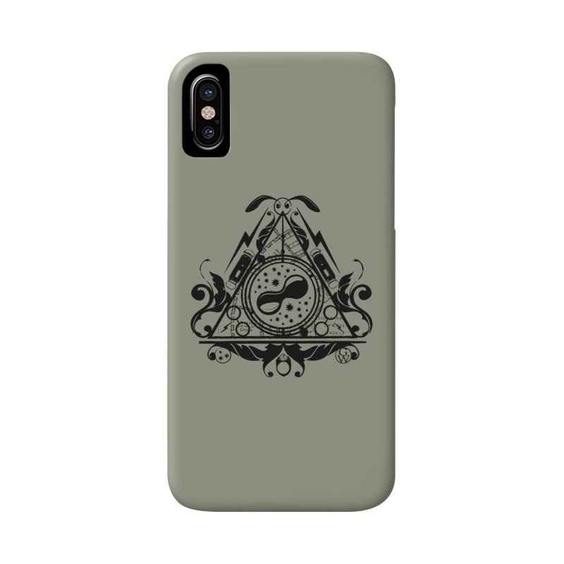 Harry's hallows Accessories Phone Case by GipsonWands Artist Shop