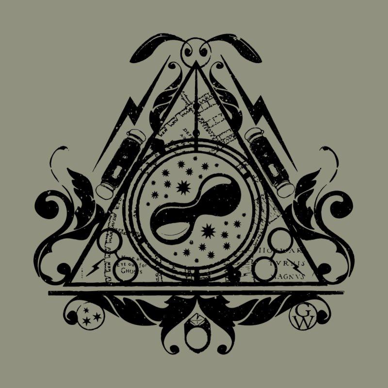 Harry's hallows Men's Triblend T-shirt by GipsonWands Artist Shop