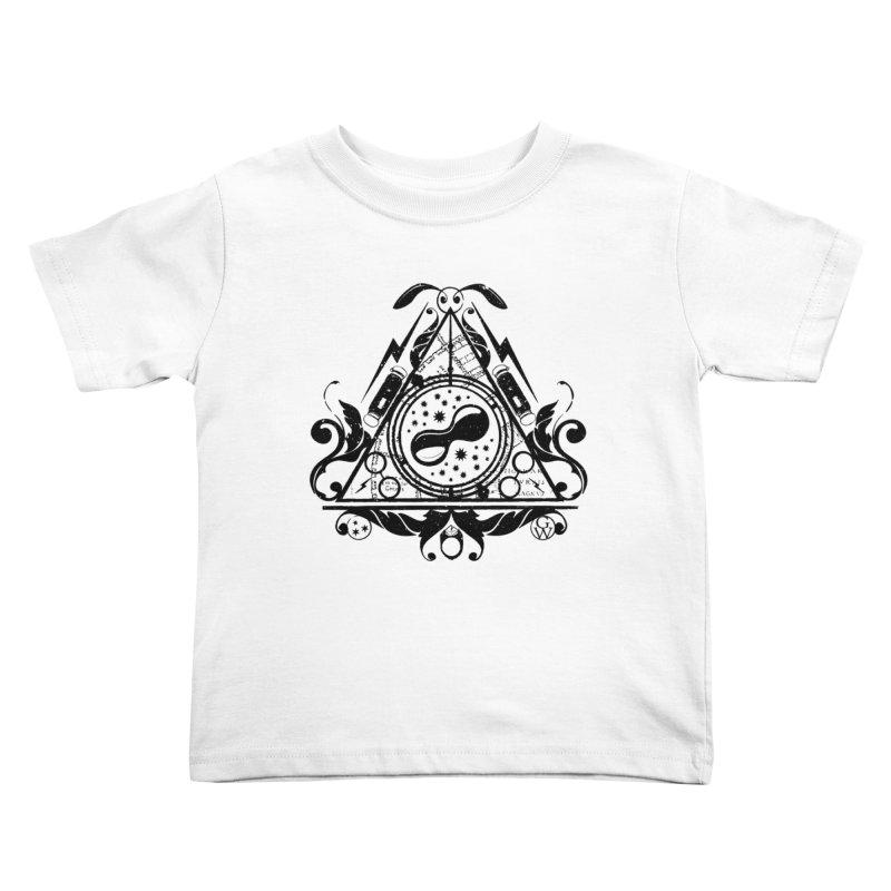 Harry's hallows Kids Toddler T-Shirt by GipsonWands Artist Shop