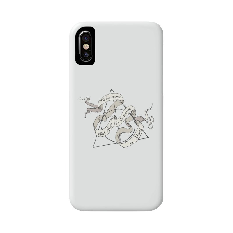 Last Enemy Accessories Phone Case by GipsonWands Artist Shop