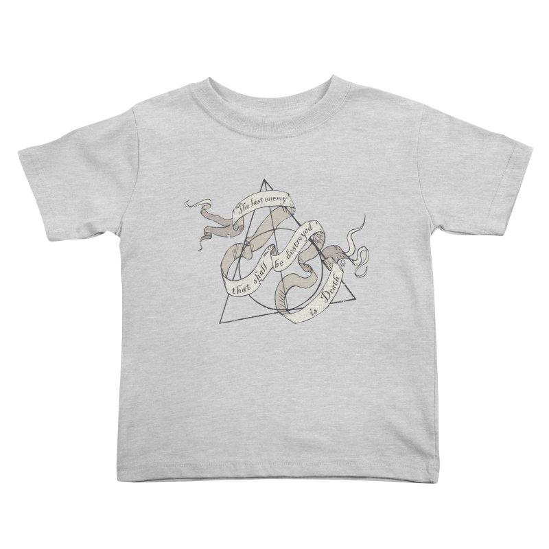 Last Enemy Kids Toddler T-Shirt by GipsonWands Artist Shop