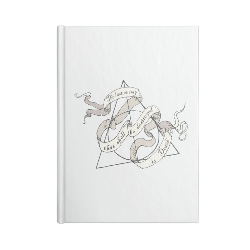 Last Enemy Accessories Notebook by GipsonWands Artist Shop