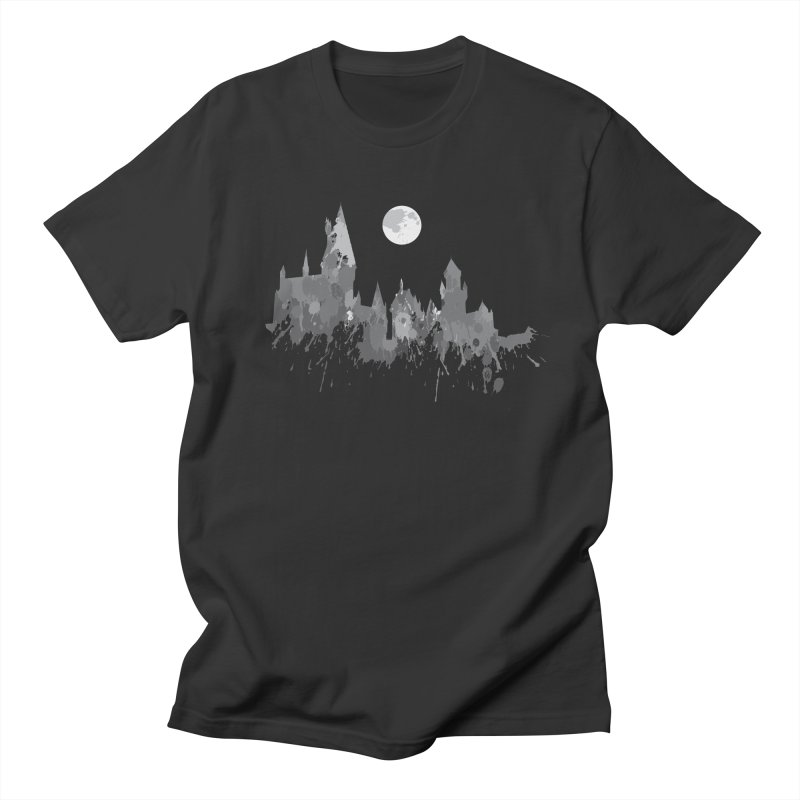 Hogwarts splatter in Men's T-Shirt Smoke by GipsonWands Artist Shop