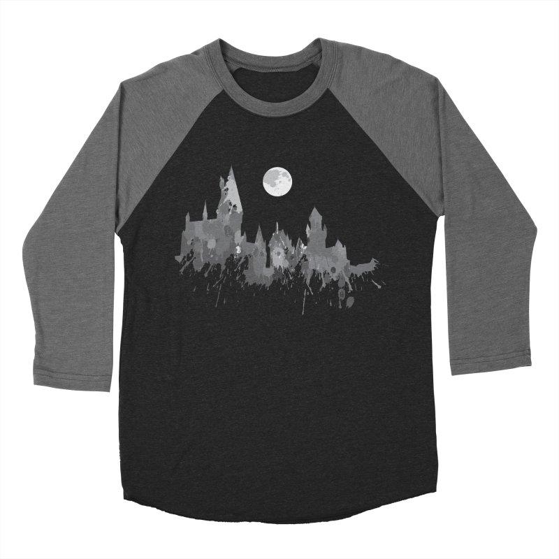 Hogwarts splatter Men's Baseball Triblend T-Shirt by GipsonWands Artist Shop