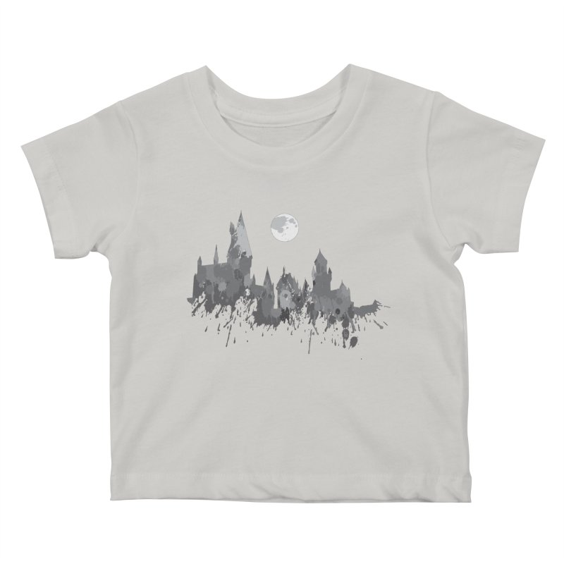 Hogwarts splatter Kids Baby T-Shirt by GipsonWands Artist Shop