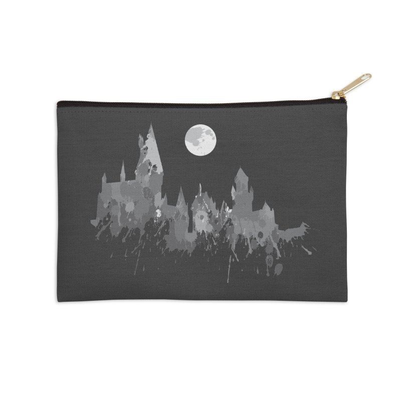 Hogwarts splatter Accessories Zip Pouch by GipsonWands Artist Shop