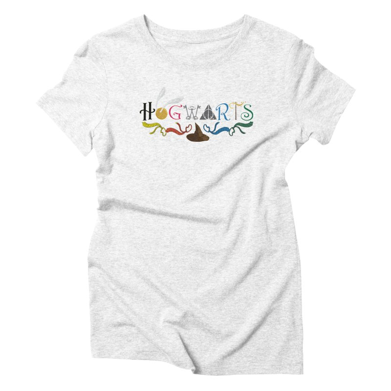 School of Witchcraft and Wizardry Women's Triblend T-shirt by GipsonWands Artist Shop
