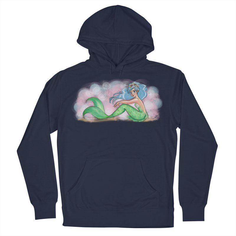 Mischievous Mermaid Men's Pullover Hoody by girlgeek's Artist Shop