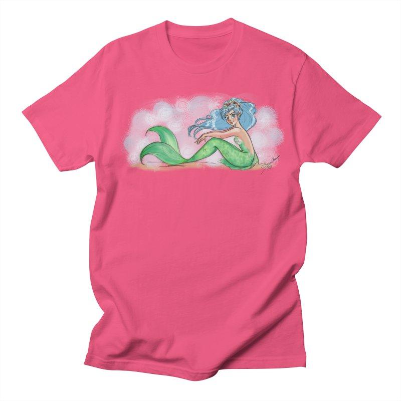 Mischievous Mermaid Men's T-Shirt by girlgeek's Artist Shop