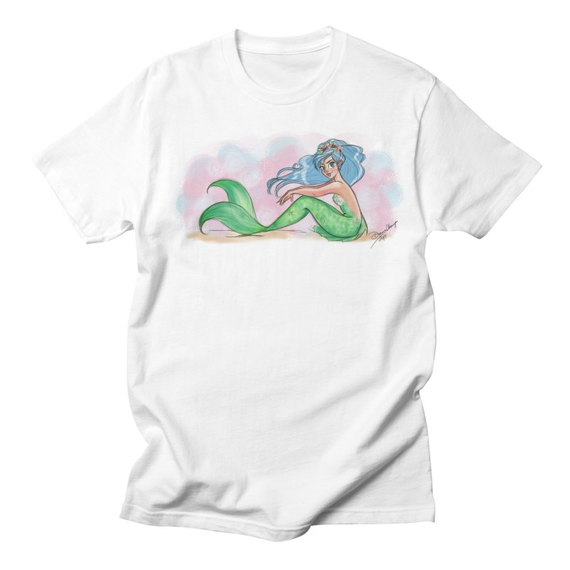 Mischievous Mermaid Women's T-Shirt by girlgeek's Artist Shop