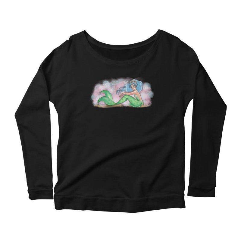 Mischievous Mermaid Women's Longsleeve T-Shirt by girlgeek's Artist Shop