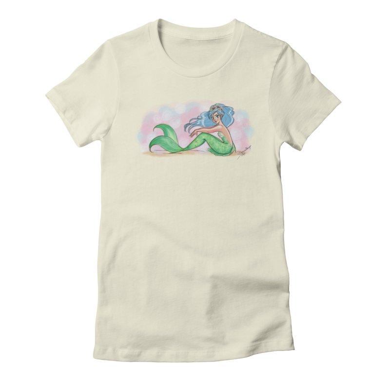 Mischievous Mermaid Women's T-Shirt by girlgeek's Artist Shop