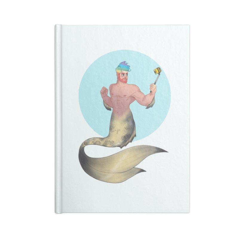 Rainbow Shellfie Accessories Lined Journal Notebook by girlgeek's Artist Shop