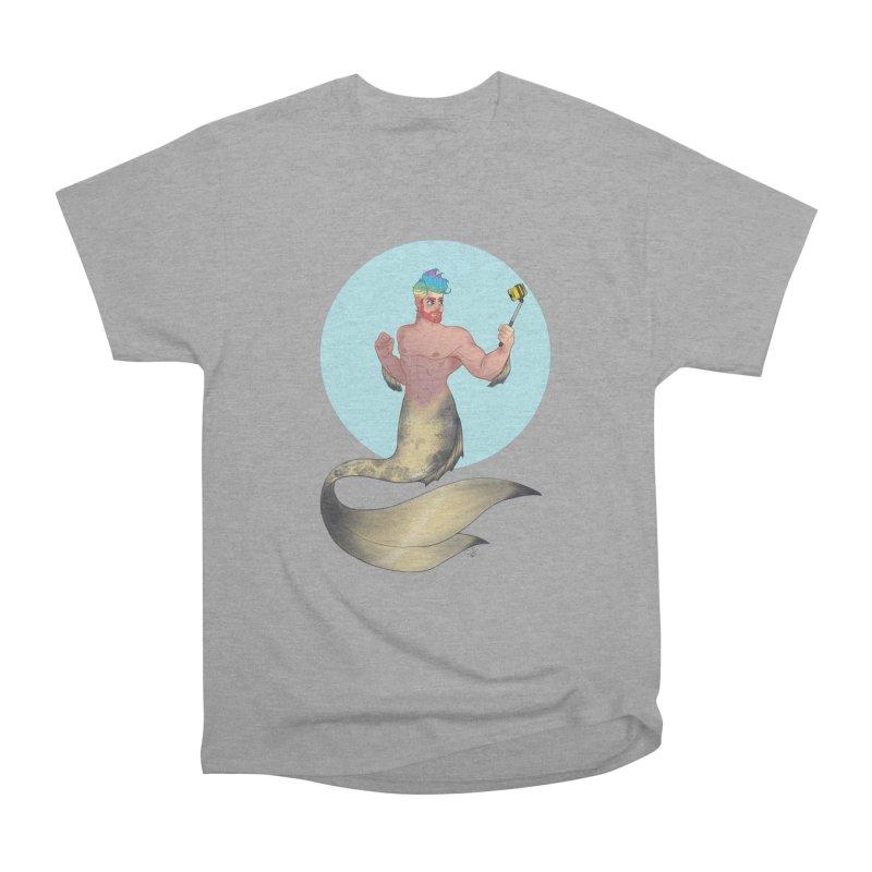 Rainbow Shellfie Women's Heavyweight Unisex T-Shirt by girlgeek's Artist Shop