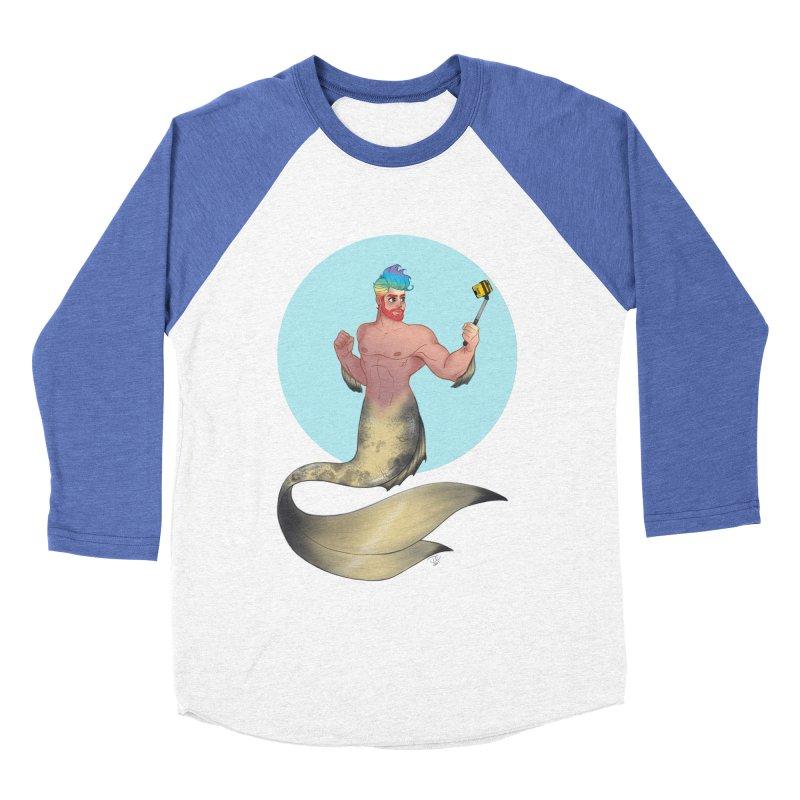 Rainbow Shellfie Women's Baseball Triblend Longsleeve T-Shirt by girlgeek's Artist Shop
