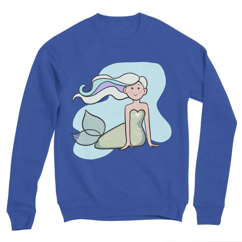 Happy Mermaid Men's Sweatshirt by girlgeek's Artist Shop