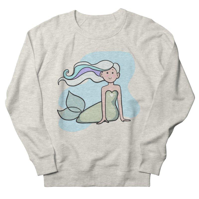 Happy Mermaid Women's Sweatshirt by girlgeek's Artist Shop