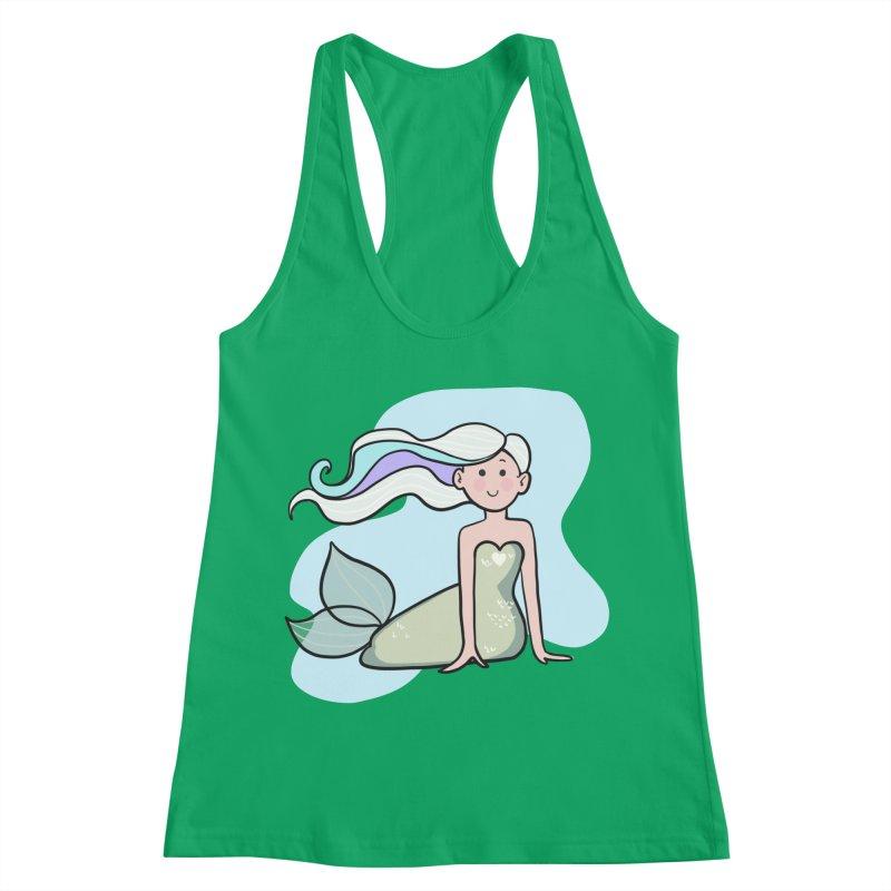 Happy Mermaid Women's Tank by girlgeek's Artist Shop