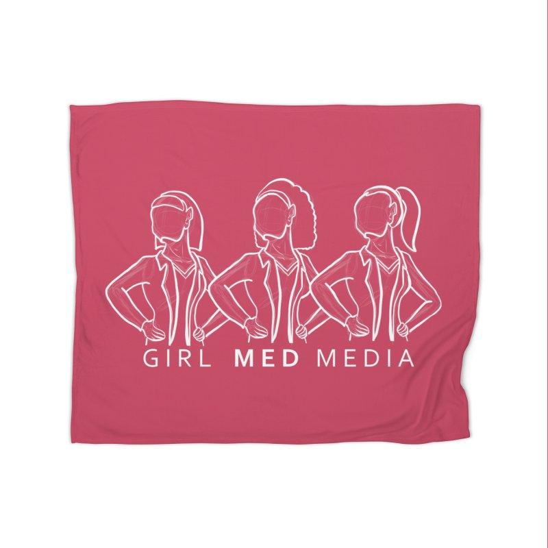 Brighter Together Home Fleece Blanket Blanket by girl med media's Artist Shop