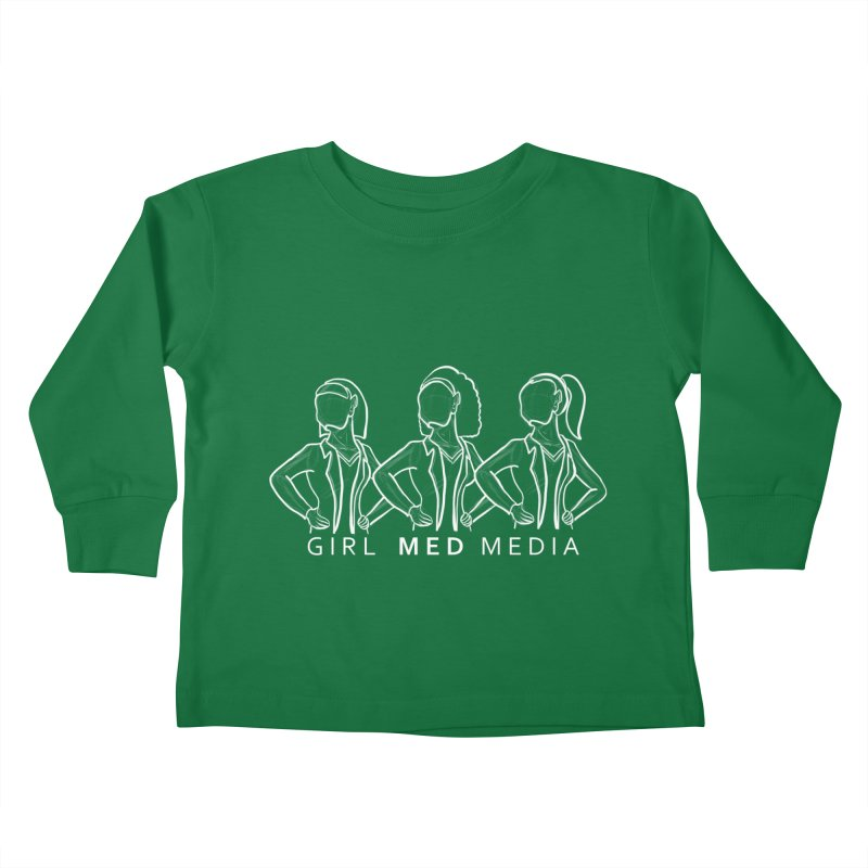 Brighter Together Kids Toddler Longsleeve T-Shirt by girl med media's Artist Shop