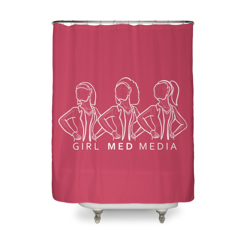 Brighter Together Home Shower Curtain by girl med media's Artist Shop