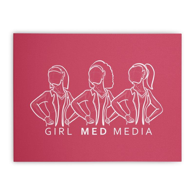 Brighter Together Home Stretched Canvas by girl med media's Artist Shop