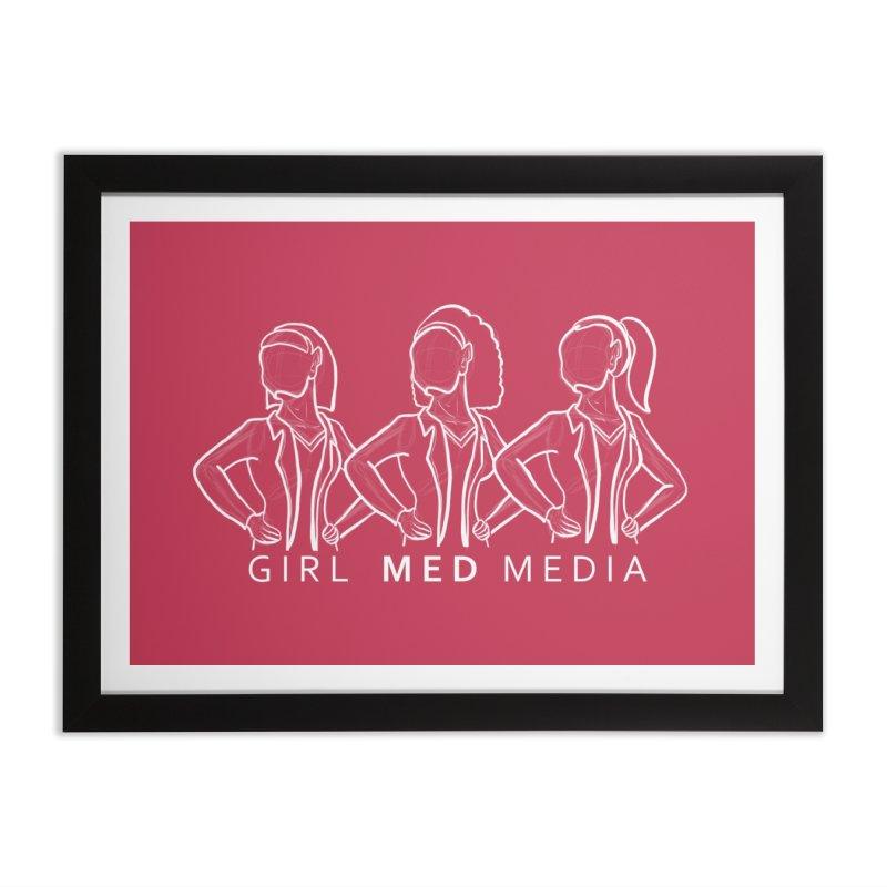 Brighter Together Home Framed Fine Art Print by girl med media's Artist Shop
