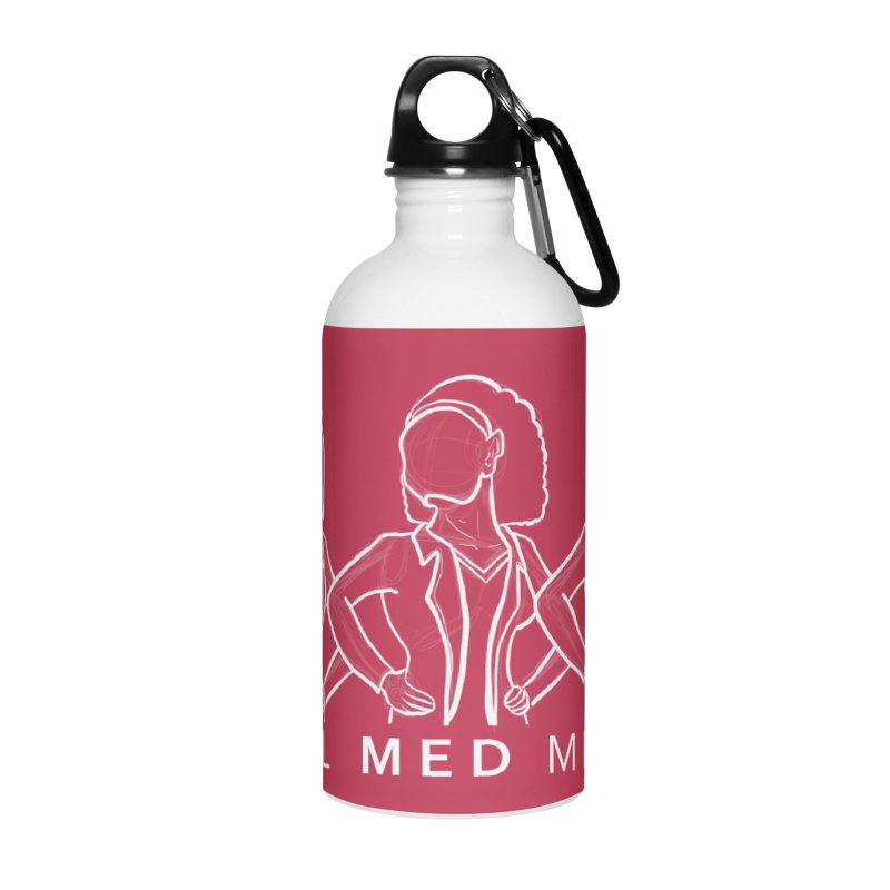 Brighter Together Accessories Water Bottle by girl med media's Artist Shop