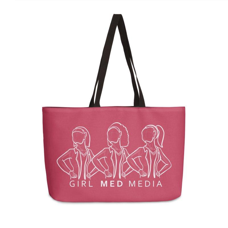 Brighter Together Accessories Weekender Bag Bag by girl med media's Artist Shop