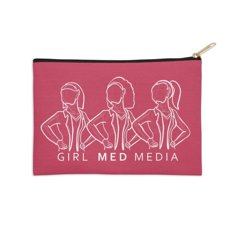 Brighter Together Accessories Zip Pouch by girl med media's Artist Shop