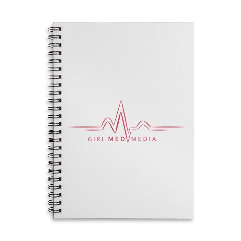 Girl Med Media Accessories Lined Spiral Notebook by girl med media's Artist Shop