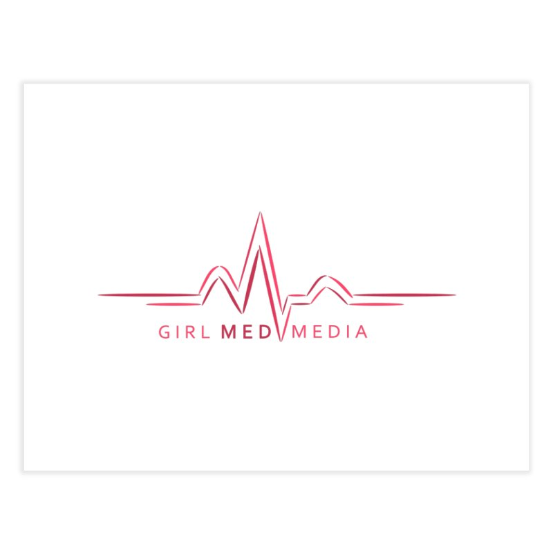 Girl Med Media Home Fine Art Print by girl med media's Artist Shop