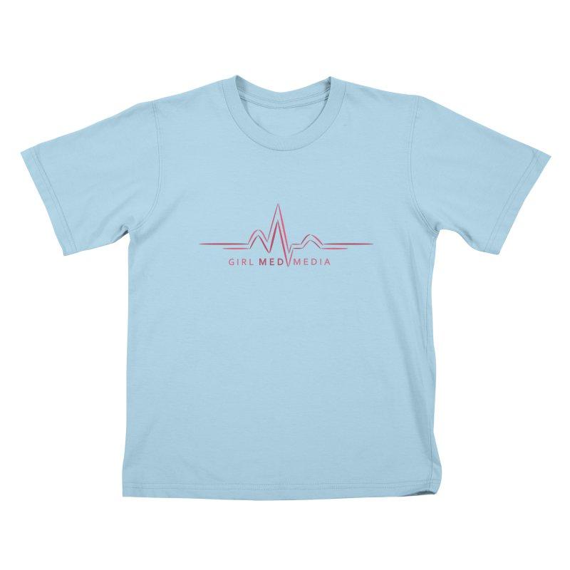 Girl Med Media Kids T-Shirt by girl med media's Artist Shop