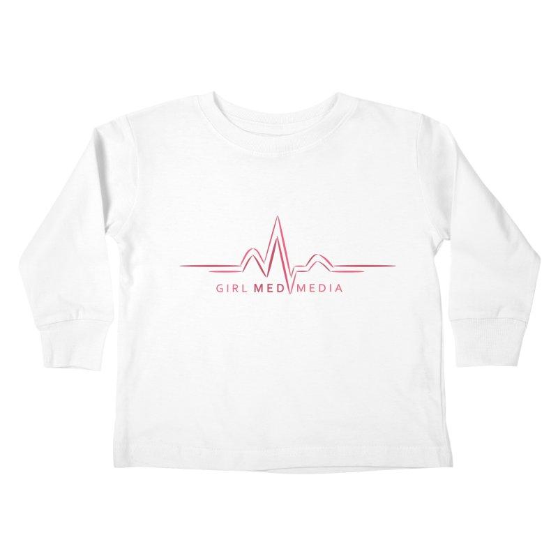 Girl Med Media Kids Toddler Longsleeve T-Shirt by girl med media's Artist Shop