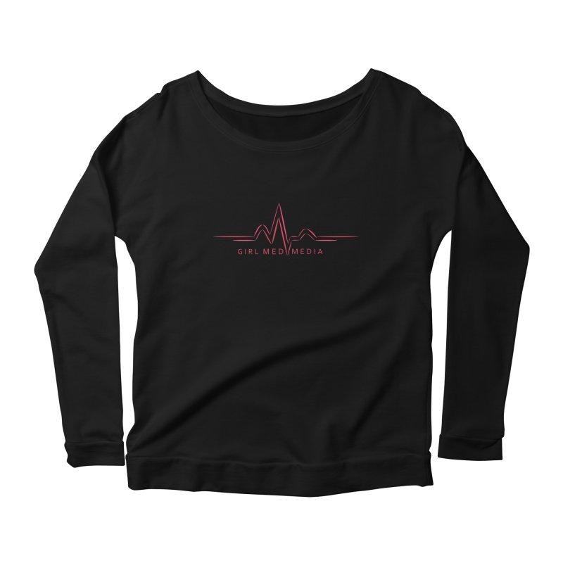 Girl Med Media Women's Scoop Neck Longsleeve T-Shirt by girl med media's Artist Shop