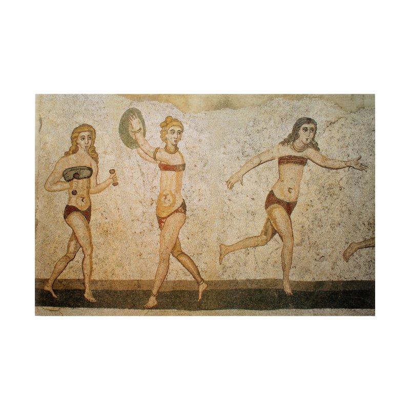 Mosaïque des bikinis, Piazza Armerina by Girl Museum Boutique