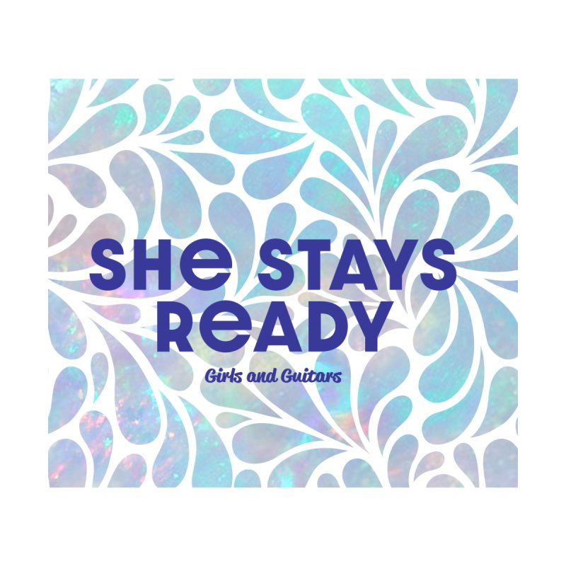 She Stays Ready Accessories Face Mask by Girls and Guitars Shop