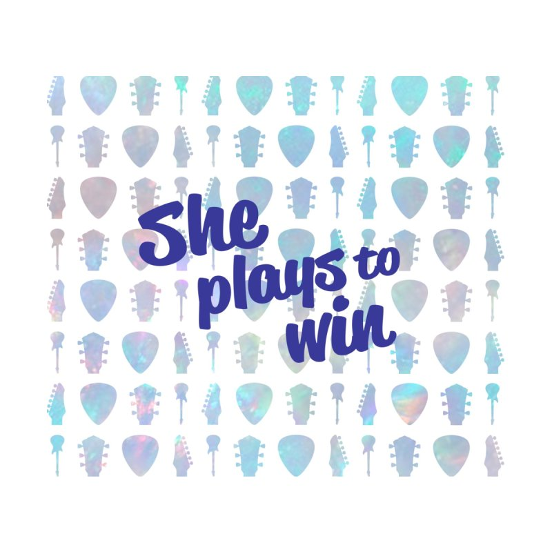 She Plays To Win Women's Bottoms by Girls and Guitars Shop