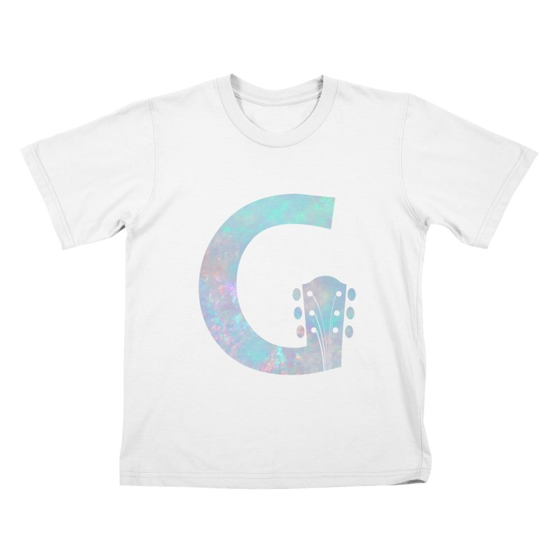Girls and Guitars Pearl Kids T-Shirt by Girls and Guitars Shop