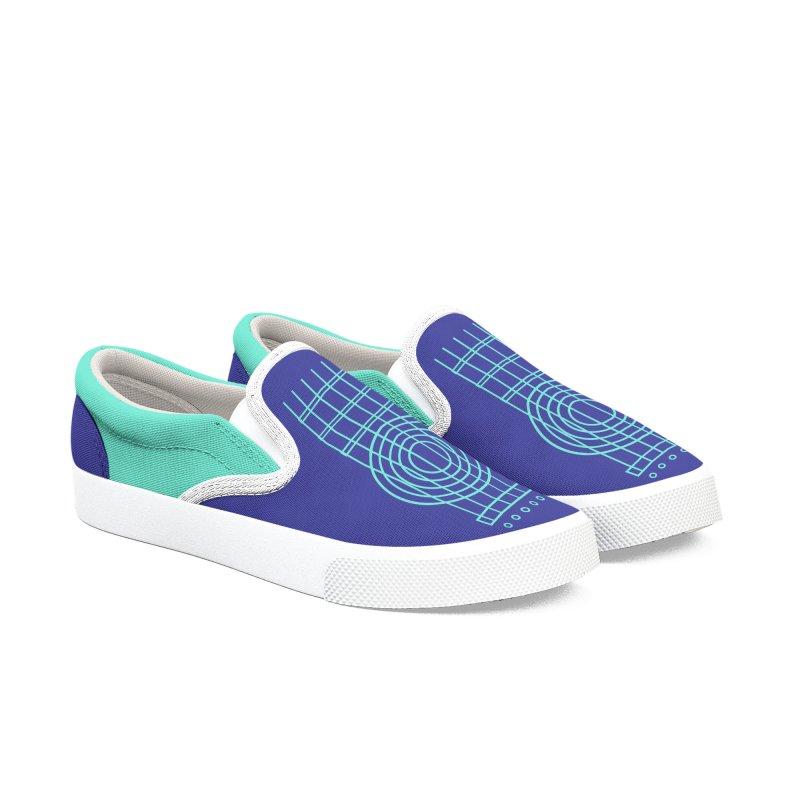 Guitar Aqua Blue Women's Shoes by Girls and Guitars Shop