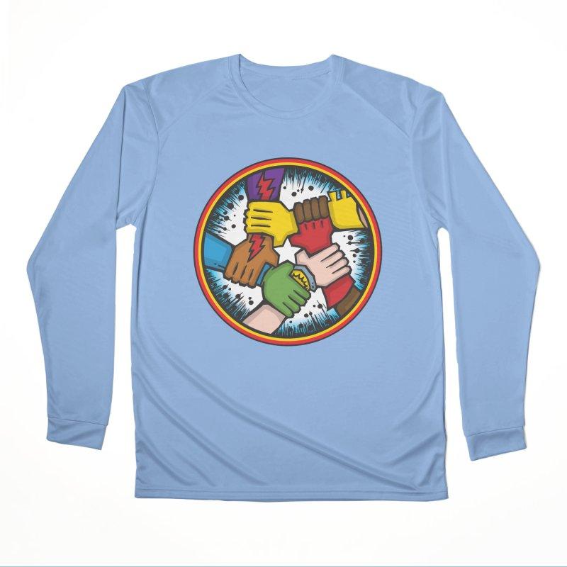 Give Comics Hope - Shield Men's Longsleeve T-Shirt by Give Comics Hope Fundraiser Shop