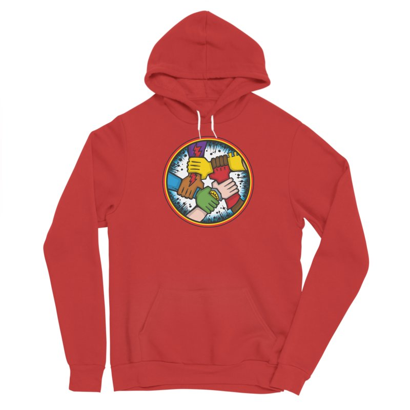 Give Comics Hope - Shield Men's Pullover Hoody by Give Comics Hope Fundraiser Shop