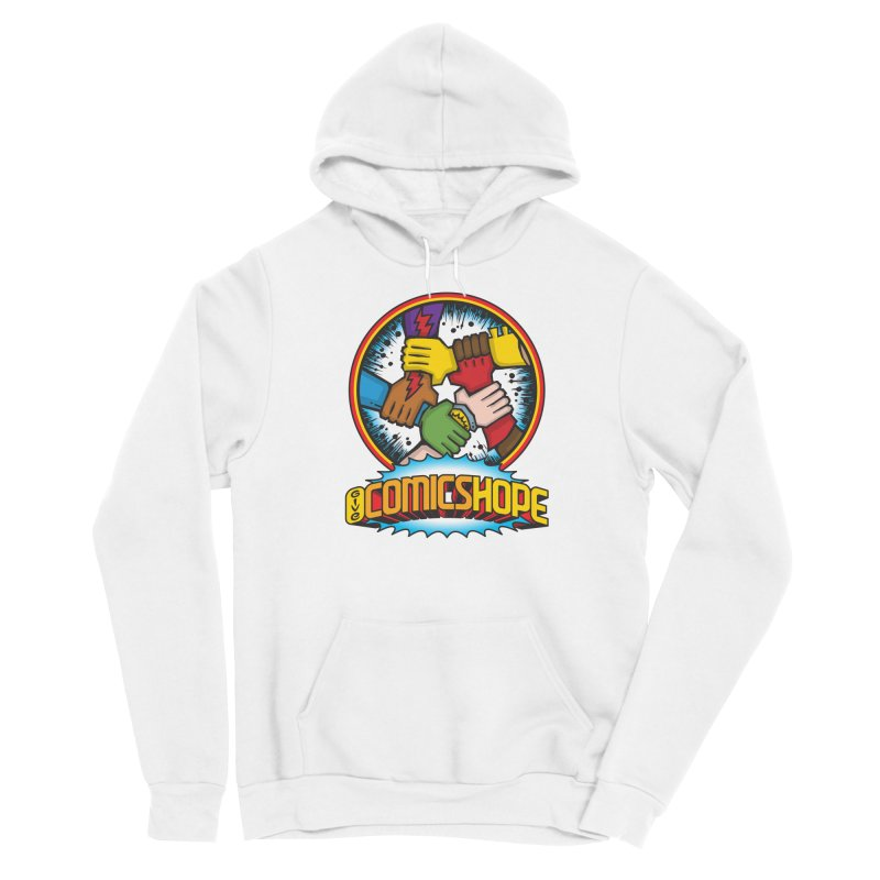 Give Comics Hope - Logo Men's Pullover Hoody by Give Comics Hope Fundraiser Shop