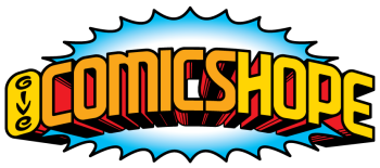 Give Comics Hope Fundraiser Shop Logo