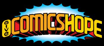 Give Comics Hope Fundraiser Shop Logo