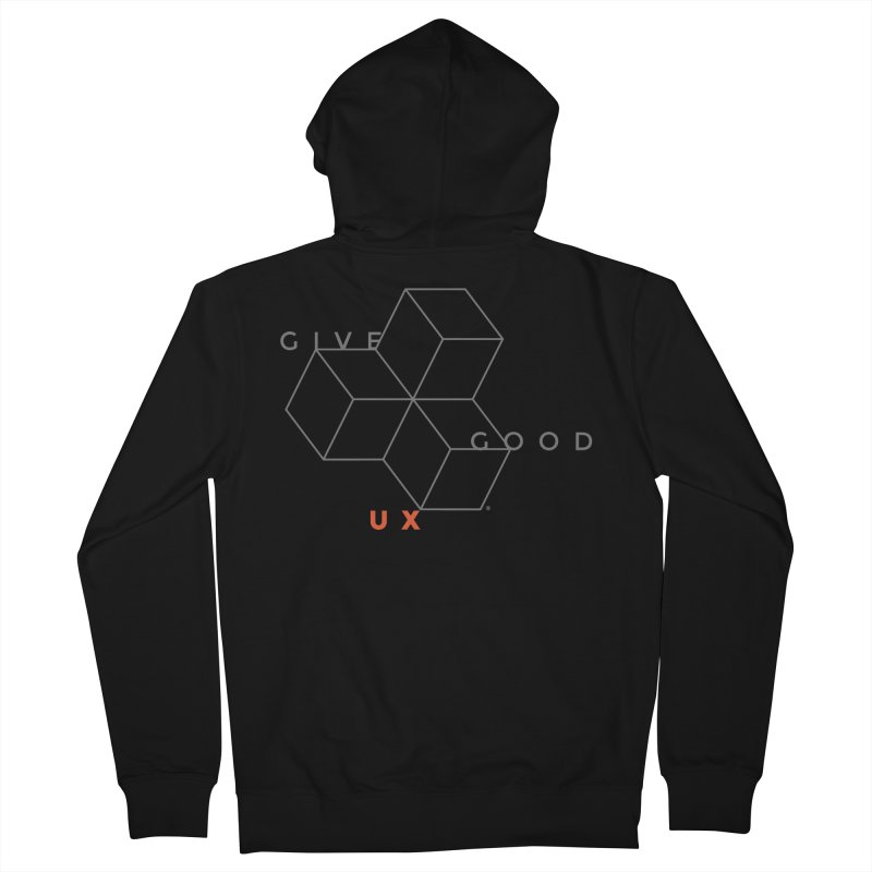 DISRUPTION Men's Zip-Up Hoody by GGUX APPAREL: ALL PROCEEDS TO BLACK LIV