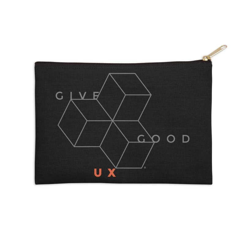DISRUPTION Accessories Zip Pouch by GGUX APPAREL: ALL PROCEEDS TO BLACK LIV