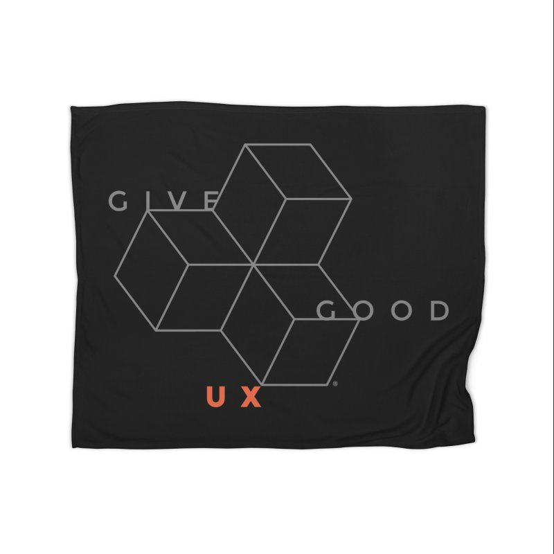 DISRUPTION Home Blanket by GGUX APPAREL: ALL PROCEEDS TO BLACK LIV