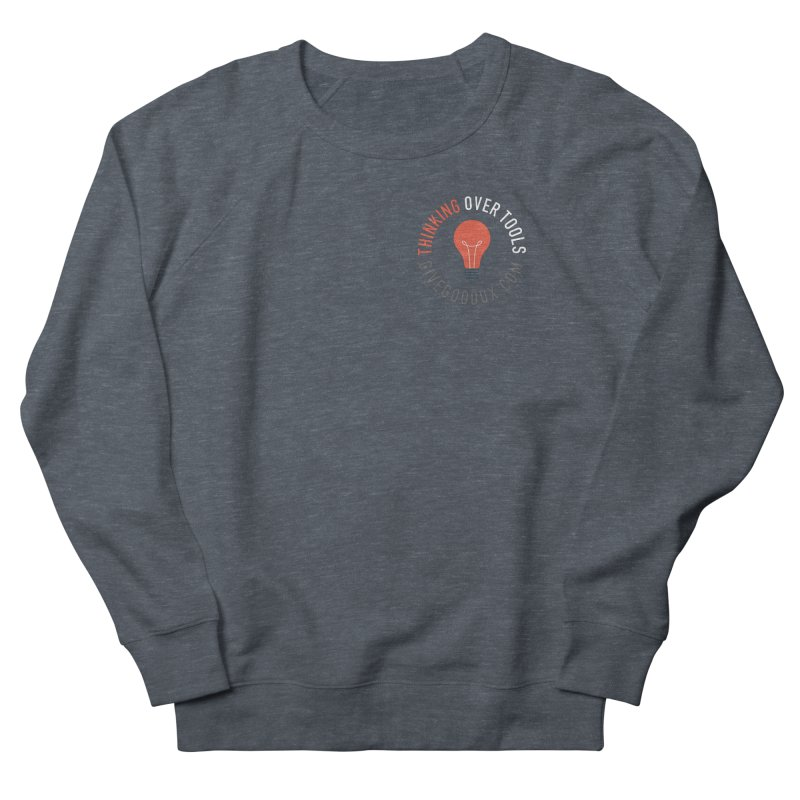 THINKING OVER TOOLS Men's Sweatshirt by GGUX APPAREL: ALL PROCEEDS TO BLACK LIV