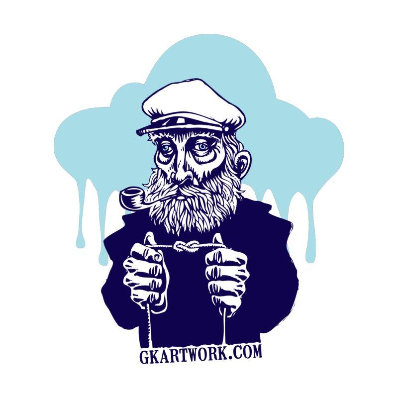 Fisherman by gk artwork's Artist Shop